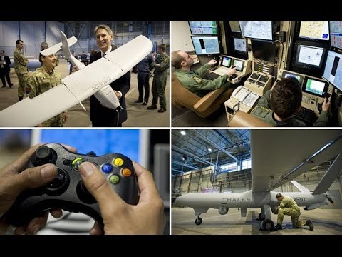 Inside Britain's military drone base