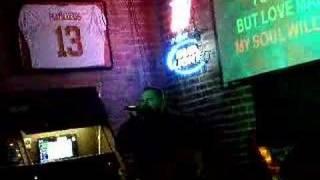 Adam does karaoke