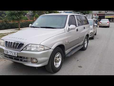 Ô tô cũ giá rẻ nhập khẩu từ hàn quốc ssangyong musso  12x Ae quan tâm lh 0936026447