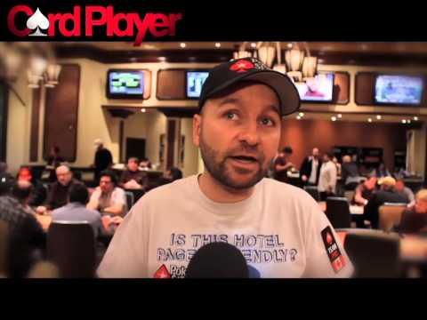 Poker Buzz -- Daniel Negreanu Pushes For Poker Shot Clock