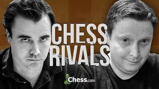 Chess Rivals: Ginger GM Simon Williams vs IM Danny Rensch!