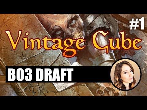 Shinobi Madness - Vintage Cube Draft #1 | MTGO 2019