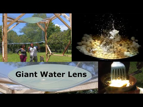 Free Energy solar Giant Water Parabola Cooker 1000f AQUA DEATH RAY
