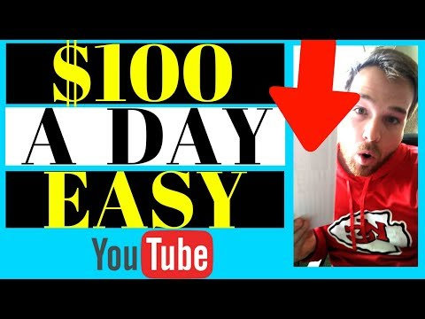 How To Make $100 A Day On Youtube WITHOUT Creating Videos (2020) Make Money On Youtube For Beginners