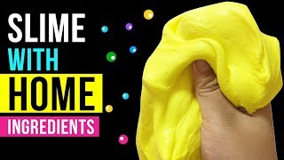 NO GLUE HOME INGREDIENTS SLIME Testing Easy Slime Recipes Under 5 Minutes #4