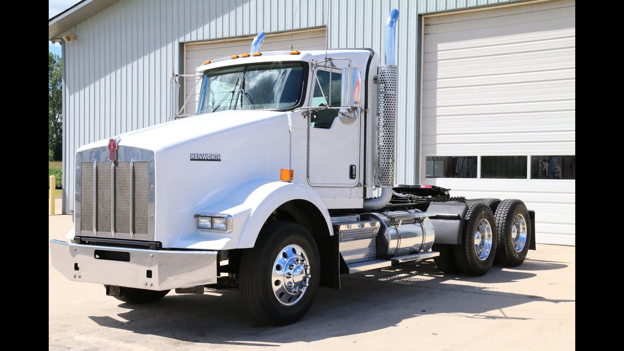 2013 Kenworth T800 Extended Day Cab 131 Truck Sales