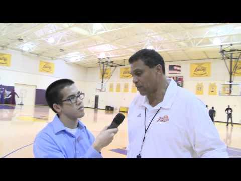 Reggie Theus Post-Practice Interview 2/12/13