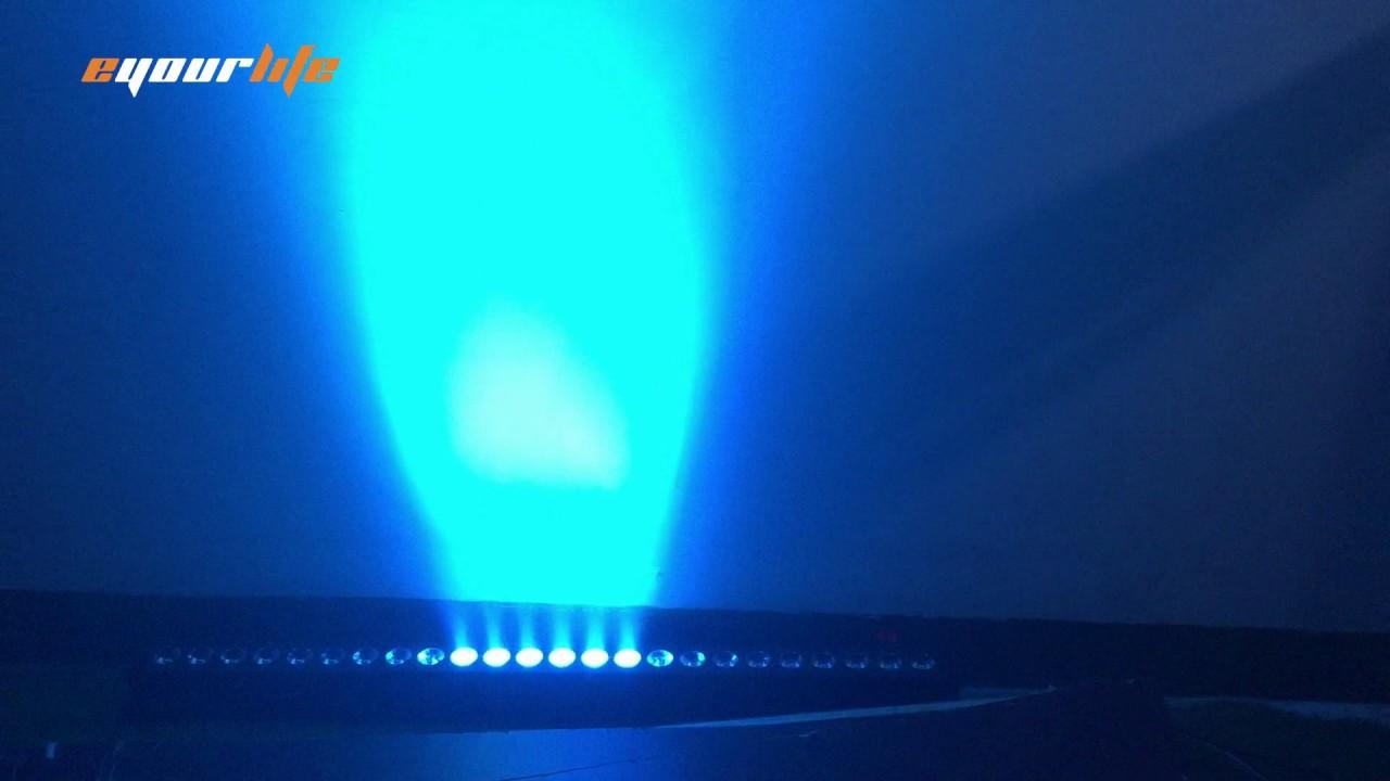 Eyourlife 40 24 x 3 w led wall wash lighting youtube eyourlife 40 24 x 3 w led wall wash lighting aloadofball Gallery