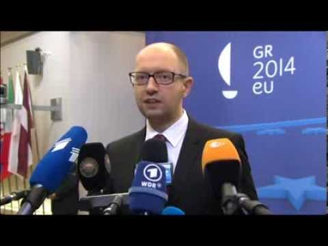 Areseniy Yatsenyuk's Statement on Energy