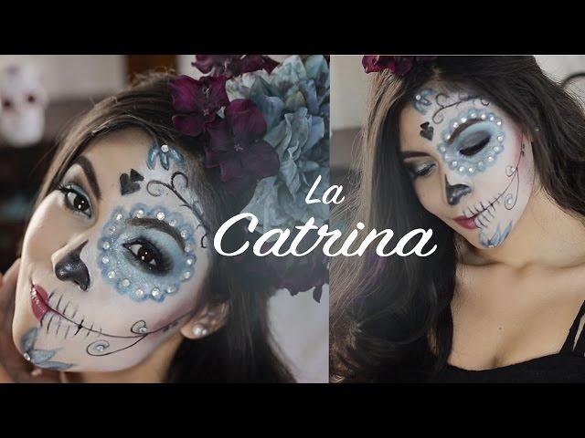 Maquillaje De Día De Muertos Disfrázate Igual Que La Catrina
