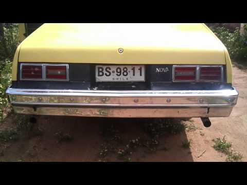 Chevy Nova Coupe, V8 Sound