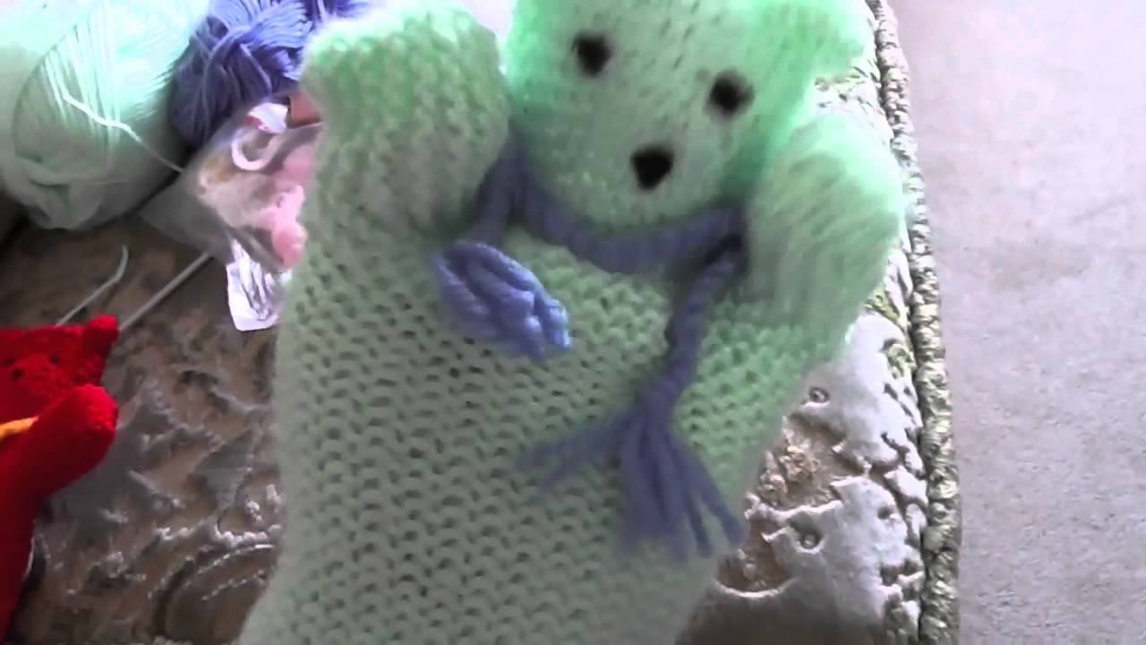 Another knitted tedy bear hand puppet knitted by me youtube another knitted tedy bear hand puppet knitted by me bankloansurffo Choice Image
