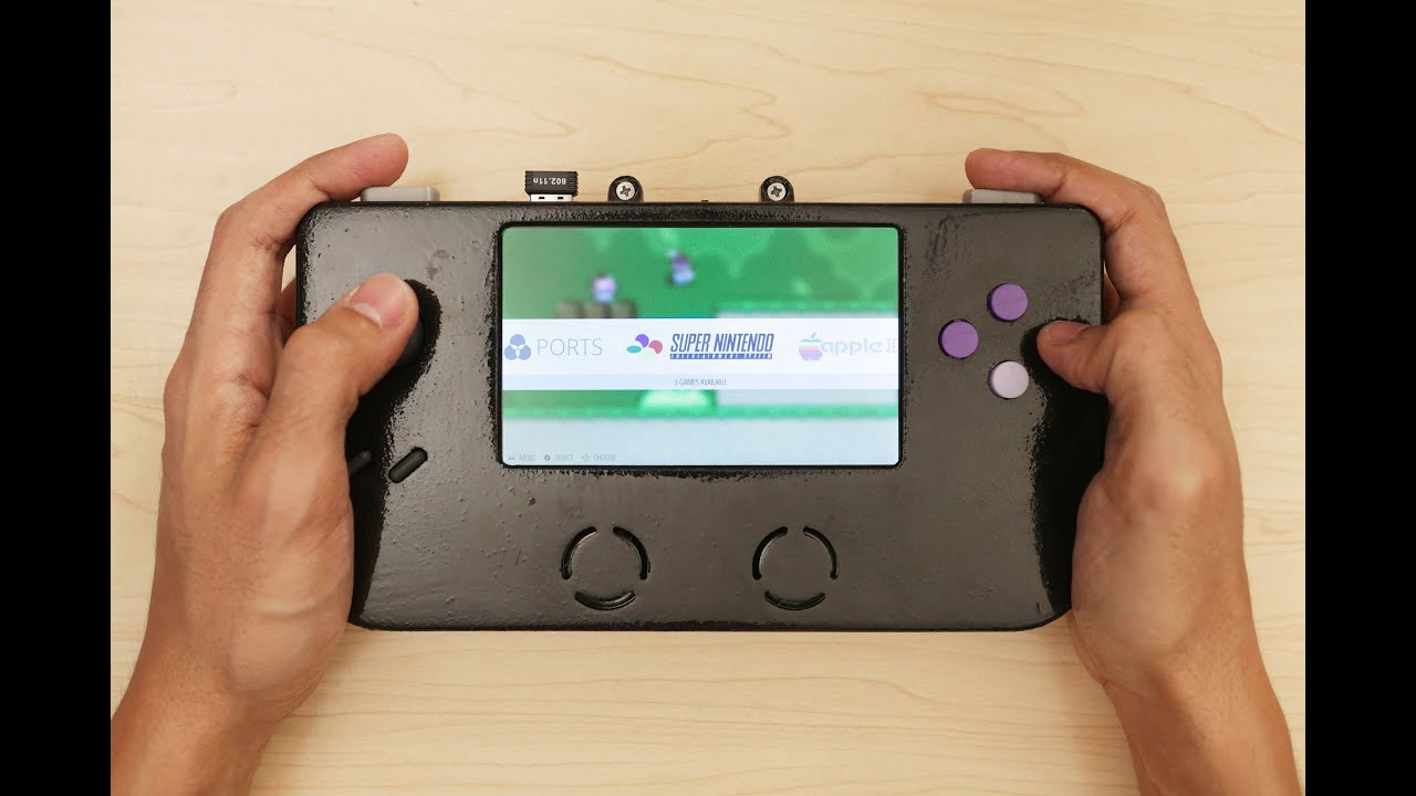 3D Printed Super Game Pi – Raspberry Pi Gameboy