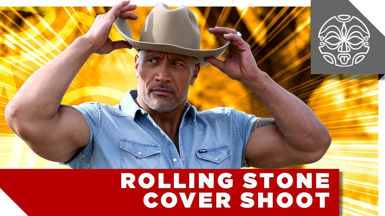 Dwayne Johnson's Country-Inspired Cover Shoot for Rolling Stone - YouTube