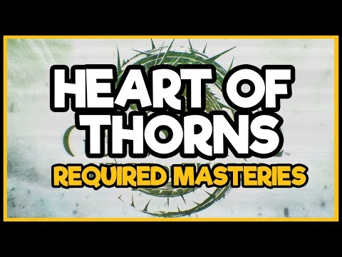 Guild Wars 2 - Heart Of Thorns Masteries (Required For The Story)