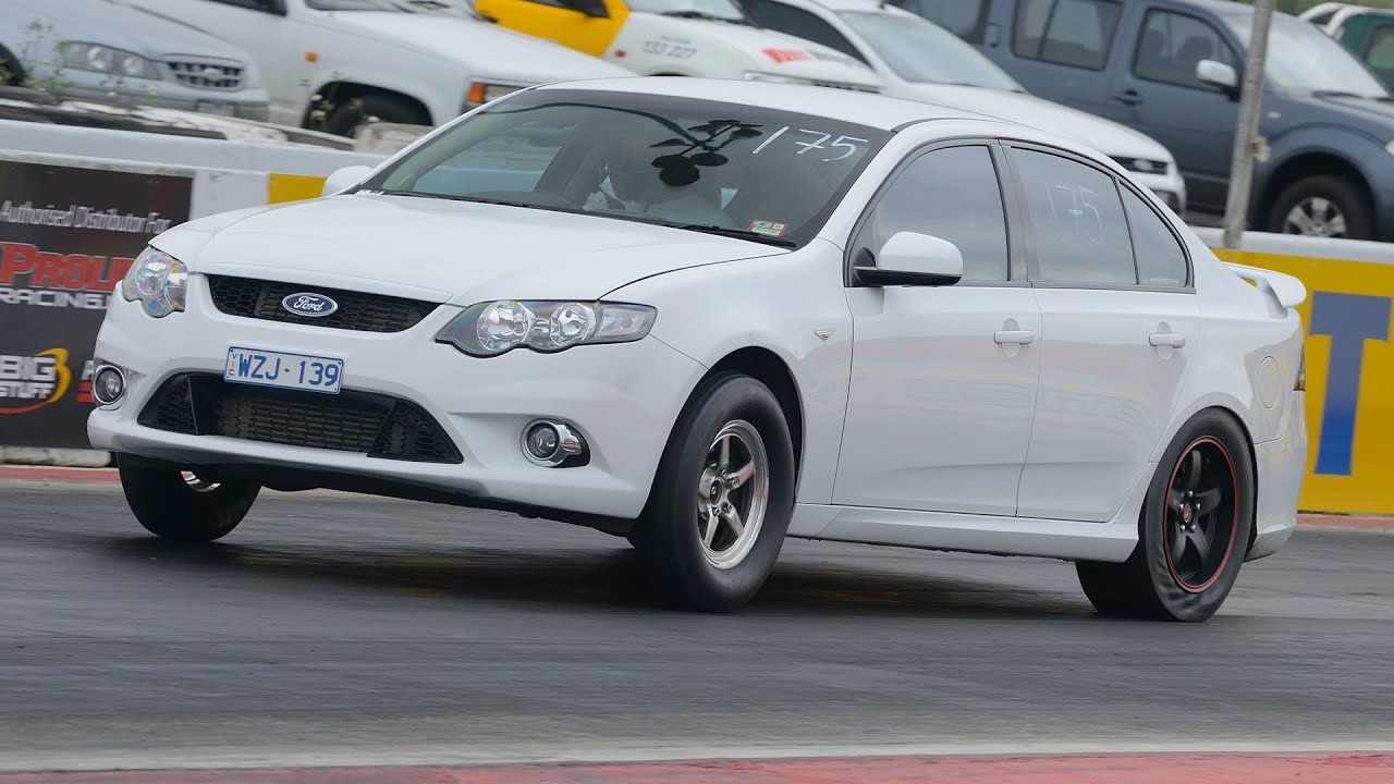 9 second 1/4 mile Ford FG XR6 Turbo - Nizpro Turbocharging