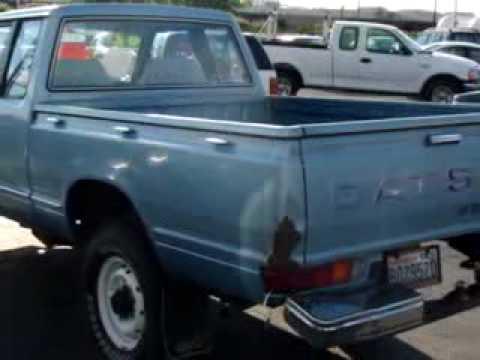 SOLD - 1982 Datsun Pickup DLX Budget Auto Sales III Auburn ...