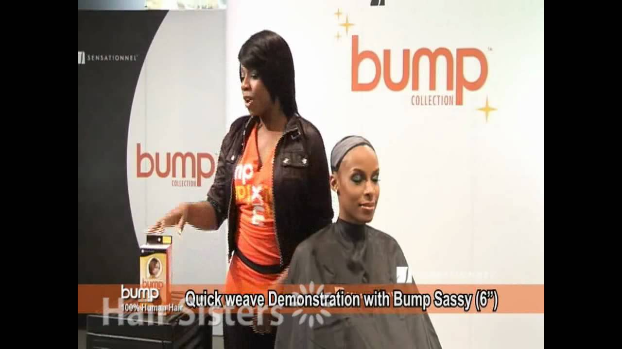 Sensationnel Bump Collection Quick Weave Demonstration