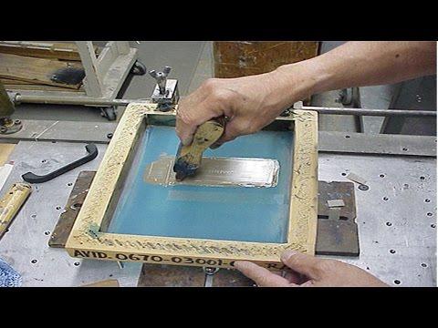 Silk Screen: Processo Artesanal - Arte Final
