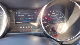 2019 Ford Mustang EcoBoost 2.3L Turbo I4 - Test Drive - Checking Road Noise At 45 MPH...