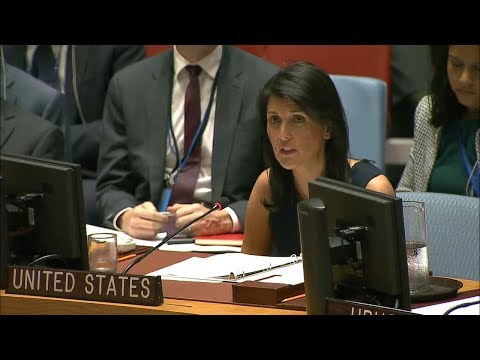 Ambassador Nikki Haley on Iran's Threatening Actions