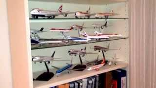 My 1:200 airliners diecast collection