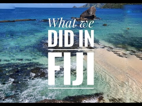 Our Vacation In Fiji // Каникулы на Фиджи