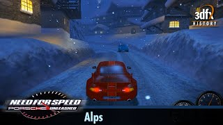 3dfx Voodoo 5 6000 AGP - Need For Speed: Porsche Unleashed - Alps [Gameplay]