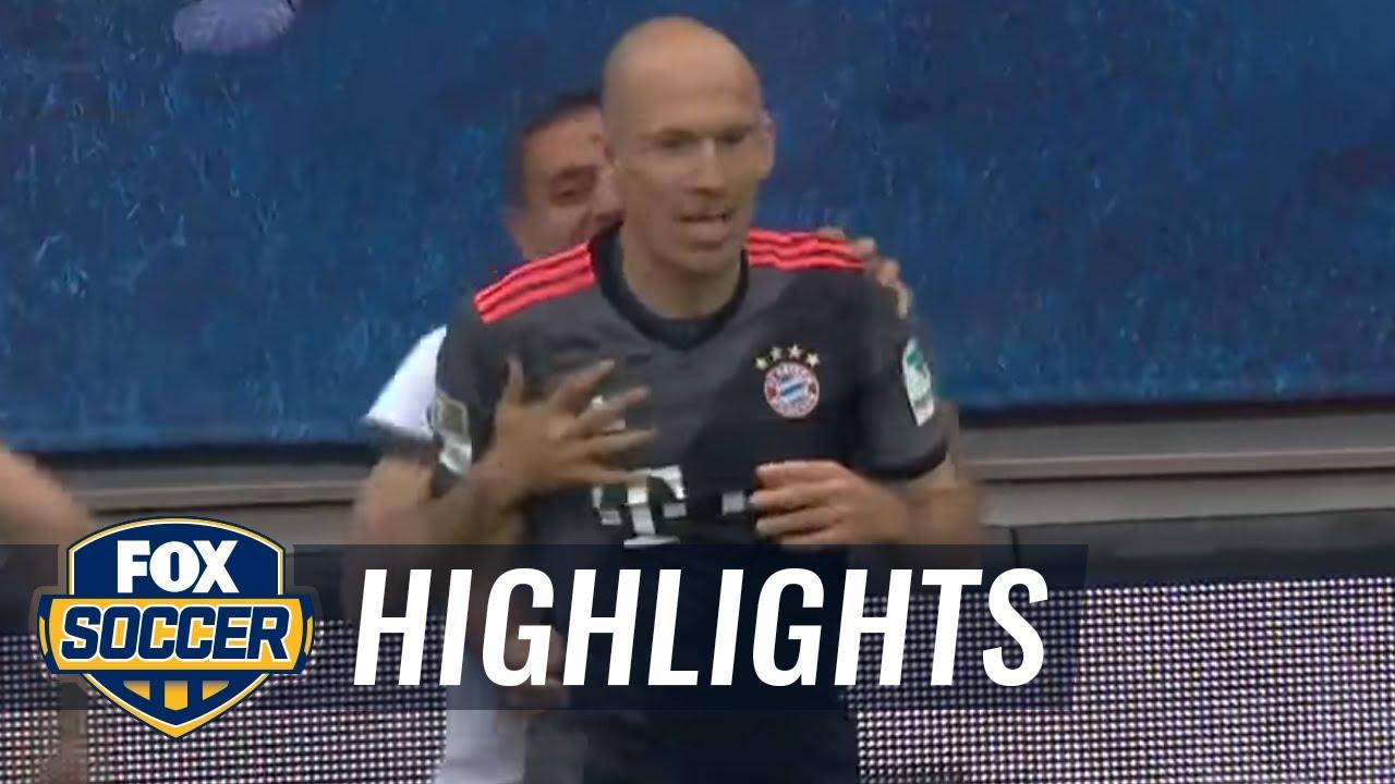 Download Arjen Robben scores winning goal for Bayern Munich | 2016-17 Bundesliga Highlights