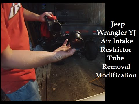 Jeep Wrangler Yj Air Intake Restrictor Removal