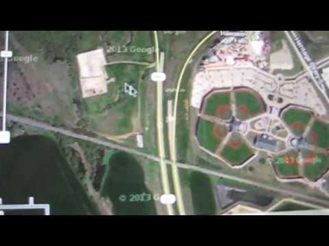 Arlington TX HWY 360 Tour of fracking near AISD schools