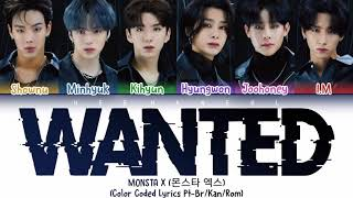 MONSTA X (몬스타 엑스) - WANTED (Legendado/Tradução) - [Color Cod…