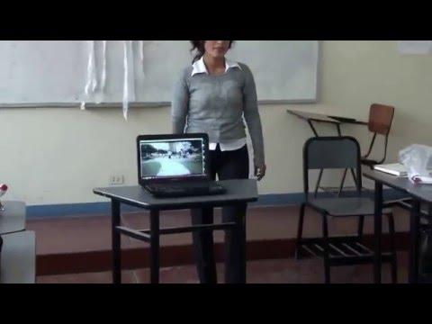 La Cantuta University Demo Class - Jessica Agüero (Part 1)