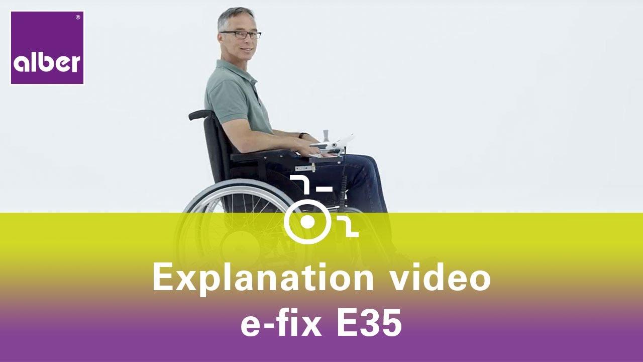 Alber Gmbh e fix e35 add on drive for wheelchairs
