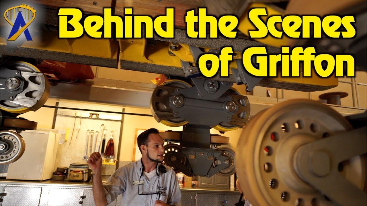 Behind the scenes of Griffon at Busch Gardens Williamsburg - YouTube