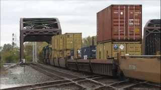 Railfanning Blue Island, Illinois, 10.06.12: CSX, CN, UP, IAIS, Metra