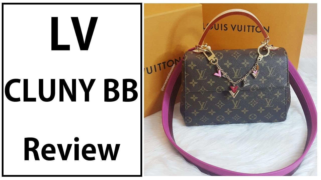 HIGHLY REQUESTED | LV CLUNY BB MONOGRAM REVIEW
