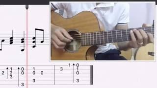 [Guitar Solo] Hướng dẫn: Kiss the rain (Yiruma)