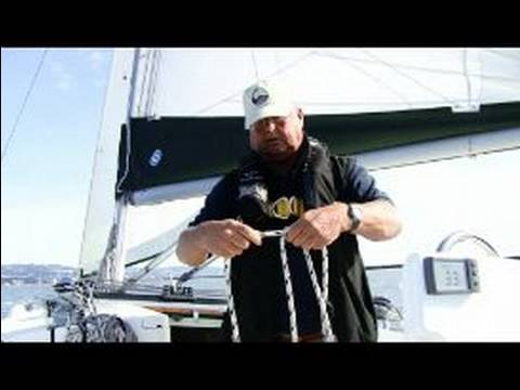 How to Sail a Sailboat : How to Coil Rope for Sailing