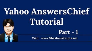 Yahoo AnswersChief Tutorial - Yahoo Answer Software