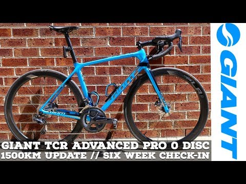 Giant TCR Advanced Pro 0 DISC // 1500Km Update // Six Week Check-In