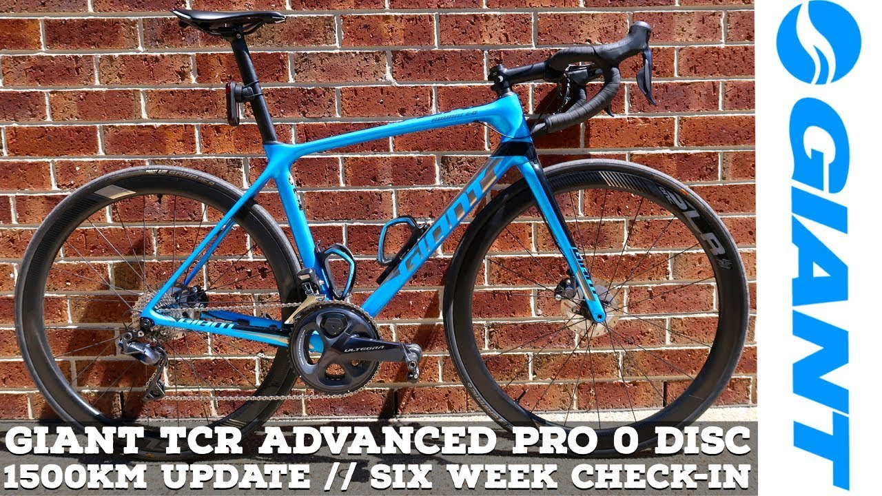 f8d20fa94c4 Giant TCR Advanced Pro 0 DISC // 1500Km Update // Six Week Check-In ...
