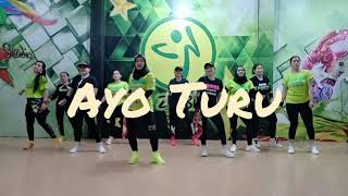 Download lagu Ayo Turu || Zaskia Gotic || Zumba Fitnes || By Zin Liandra