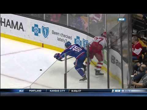 Boston University Wins 2015 Hockey East Tournament - 03/21/2015