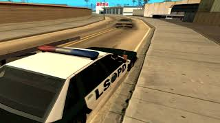 SAMP клип - За нами едут полицаи. First clip by Pe4enka
