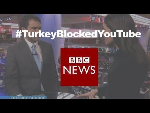 Social media reaction after #TurkeyBlockedYouTube - BBC News