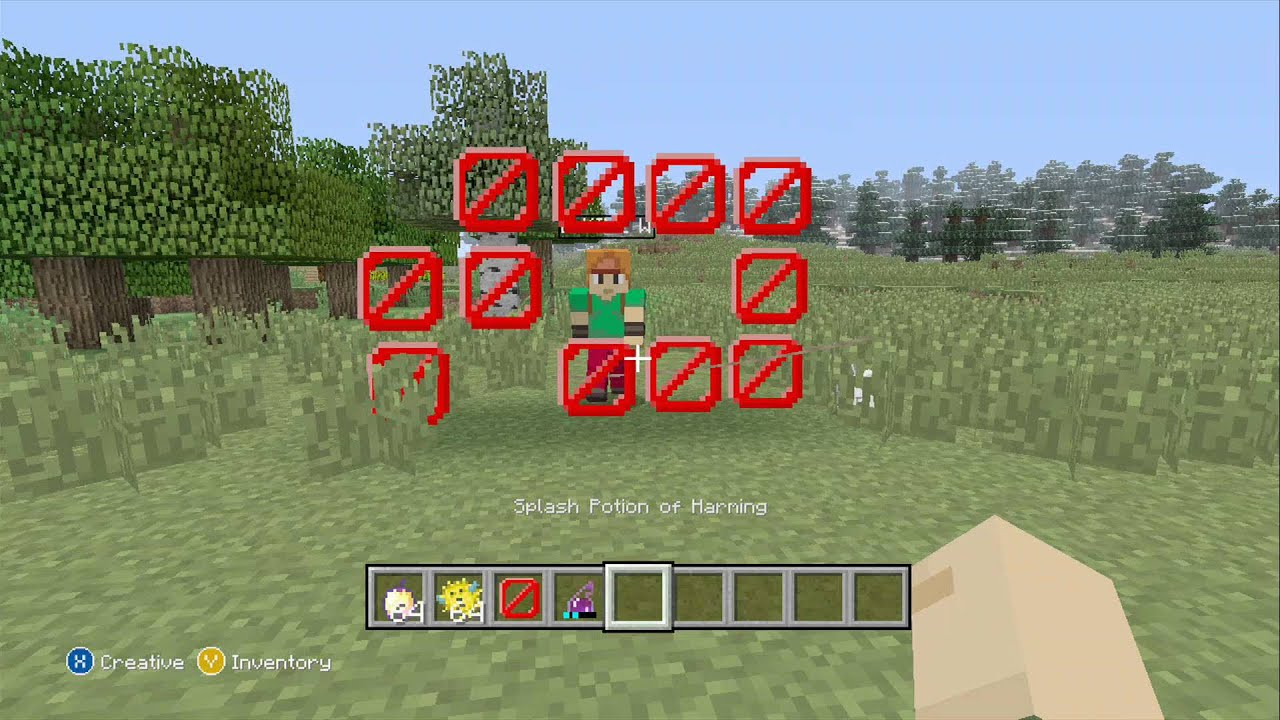 how to make barriers in minecraft