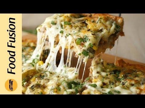Tex Mex Pizza Recipe By Food Fusion