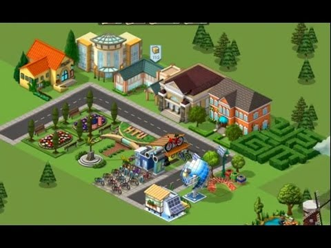 CityVille Hometown: All Buildings