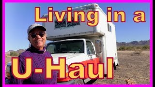 69 Year-Young Marcia--Living in a U-Haul Box Truck